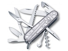 Victorinox Huntsman Silvertech Çakı Şeffaf Gümüş Vt 1.3713.T7