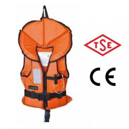 Martek Çocuk Can Yeleği Yakalı TSE'li / 20-30kg