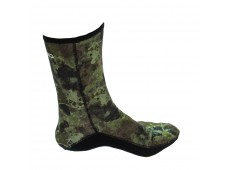 Cressi Anti-Slid Camou Kamuflajlı Çorap 2.5mm