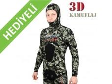 Apnea Legend 3D Kamuflajlı Elbise 7mm