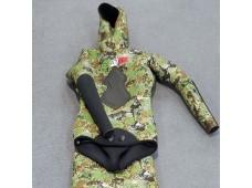 Seatec Avcı 5 mm Elbise / Yeşil
