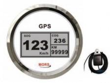 Mors Sürat Göstergesi 55mph / Beyaz + GPS Anteni