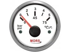 Mors Yağ Göstergesi 10 Bar / Beyaz