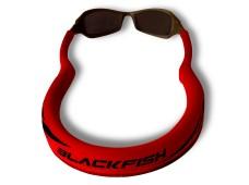 Blackfish Gözlük İpi Kırmızı-Siyah/ Kalın