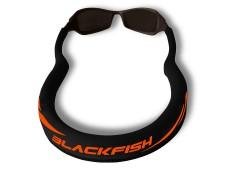 Blackfish Gözlük İpi Siyah-Turuncu / Kalın