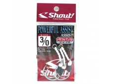 Shout Powerful Assist Jig İğne 3/0