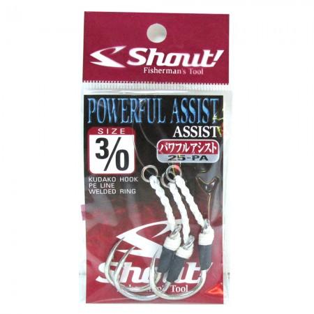 Shout Powerful Assist Jig İğne 3/0