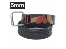 Labrax Marsilya Tokalı Kauçuk Kemer 5mm / Camo-Siyah
