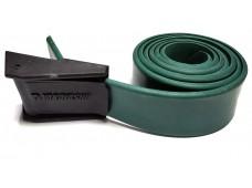 Yakayasub Plastik Tokalı Kauçuk Kemer / Yeşil