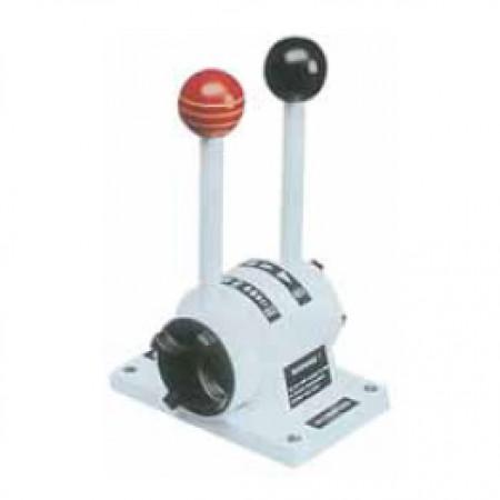 Ultraflex Ağır Hizmet Kumanda Kolu Gaz +Şanzıman / Beyaz B101