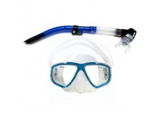 Amphibian Pro Hunter Maske Şnorkel Seti / Mavi