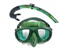 Apnea X-Low Maske Şnorkel Seti / Yeşil