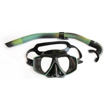 Apnea Hunter Kamuflajlı Maske Şnorkel Seti
