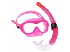 Aqua Lung Reef DX Çocuk Maske Şnorkel Seti / Pembe