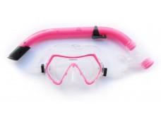 Aruba Çocuk Maske Şnorkel Seti / Pembe