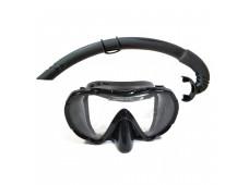 Bermuda Maske Şnorkel Seti  / Tek Cam