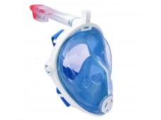 Bermuda Tam Yüz Maske Şnorkel Seti / Mavi