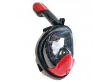 Bermuda Çocuk Tam Yüz Maske Şnorkel Seti / Siyah