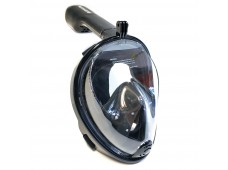 Bermuda Tam Yüz Maske Şnorkel Seti / Siyah