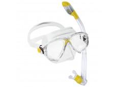 Cressi Marea Vip Junior Maske Şnorkel Seti / Sarı