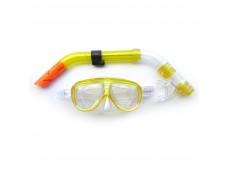 Sealife Maske Şnorkel Seti (İki Camlı) / Sarı
