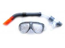 Sealife Maske Şnorkel Seti  / Şeffaf - Siyah