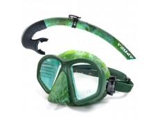 Apnea Apex Maske Şnorkel Seti / Yeşil