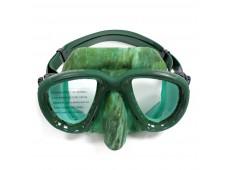 Apnea X-Low Kamuflajlı Maske / Yeşil