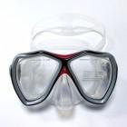 Bermuda Deniz Maskesi / Şeffaf Kırmızı
