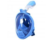 Çocuk Tam Yüz Maske Şnorkel Seti / Mavi