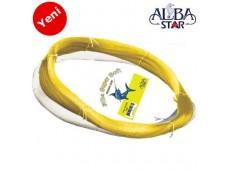 Albastar Super Soft Beyaz Çile Misina 1000m 0.70mm
