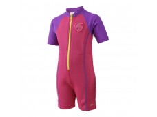 Speedo Seasquad Hot Tot Suit Çocuk Mayo Pembe / Mor