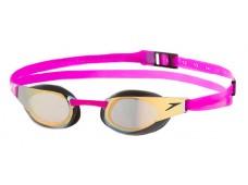 Speedo FastSkin3 Elite Mirrored Gözlük Altın / Fuşya