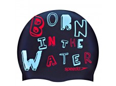Speedo Junior Slogan Print Bone / Born