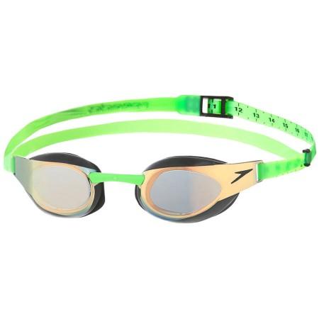 Speedo FastSkin3 Elite Mirrored Gözlük Yeşil / Turuncu