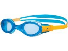 Speedo Futura Biofuse Junior Yüzücü Gözlüğü - Mavi/Sarı