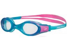 Speedo Futura Biofuse Junior Yüzücü Gözlüğü - Turkuaz/Pembe
