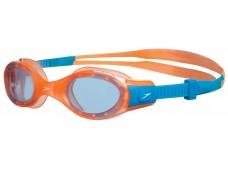 Speedo Futura Biofuse Junior Yüzücü Gözlüğü - Turuncu/Mavi