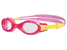 Speedo Futura Biofuse Junior Yüzücü Gözlüğü - Pembe/Sarı