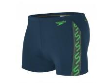 Speedo Monogram Aquashort Erkek Mayo Lacivert / Yeşil