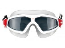 Speedo Rift Pro Mask Yüzücü Gözlüğü / Kırmızı - Duman