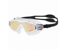 Speedo Rift Pro Mirror Mask Yüzücü Gözlüğü / Siyah - Turuncu