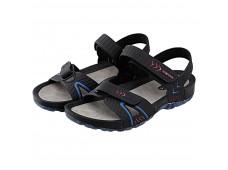 Ceyo 9829 Erkek Sandalet / Siyah-Kırmızı