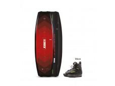 JOBE Wakeboard Logo Kırmızı ve Maze Ayakkabı