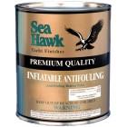 Sea Hawk Şişme Bot İçin Esnek Zehirli Boyası / Siyah
