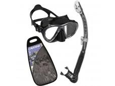 Cressi Big Eyes Evolution Maske Alpha Ultra Dry Şnorkel Seti