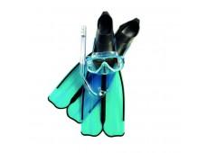 Cressi Rondinella Palet Maske Şnorkel Seti
